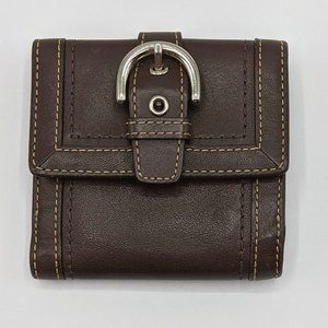3/$20 Coach Leather Wallet Brown Bifold Vintage